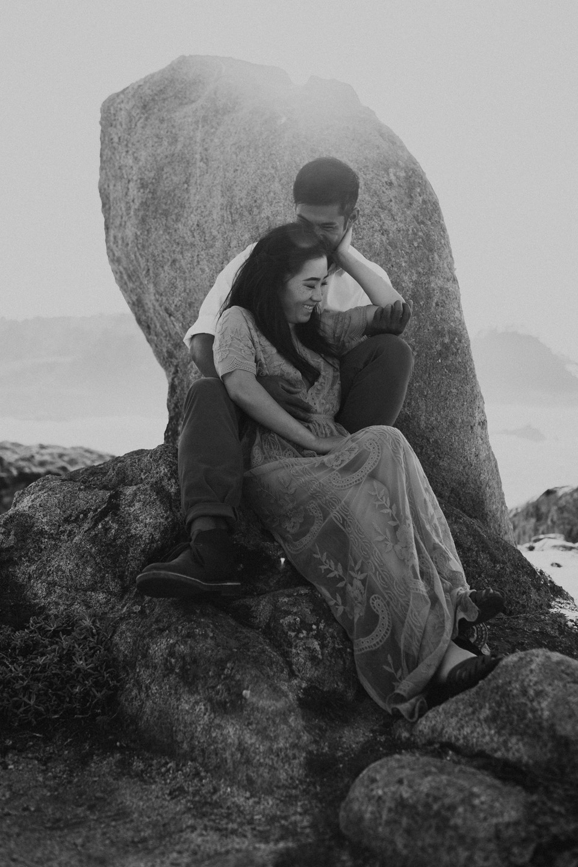 Big Sur Engagement Session - Michelle Larmand Photography009