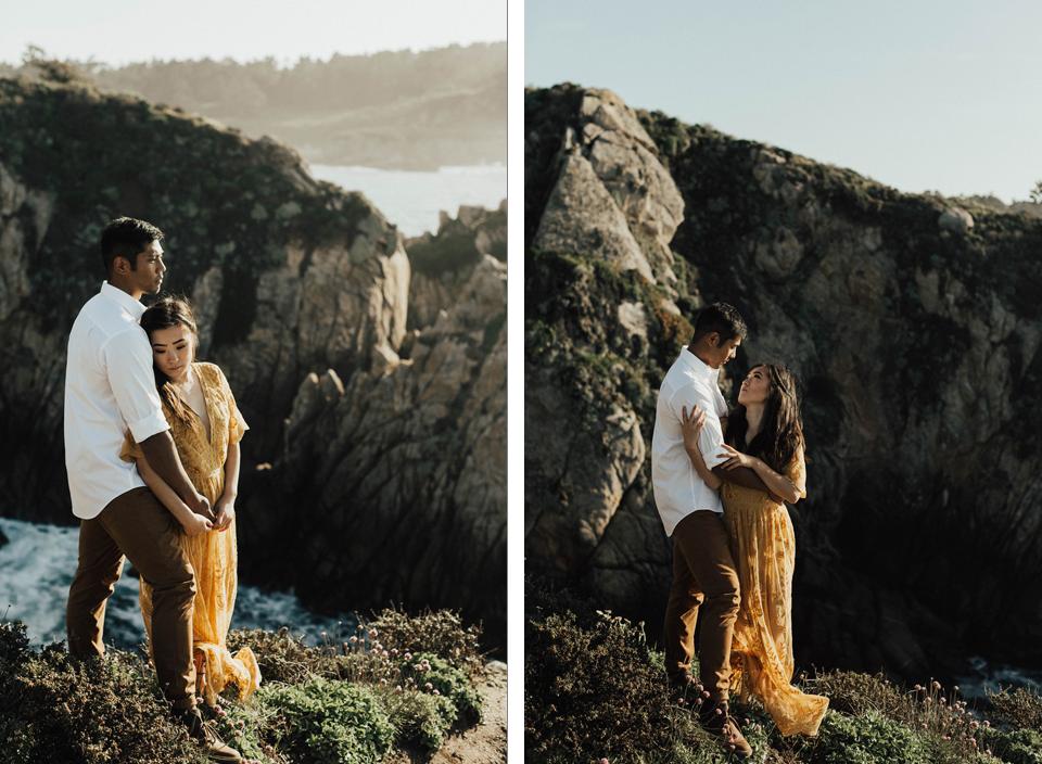 Big Sur Engagement Session - Michelle Larmand Photography024