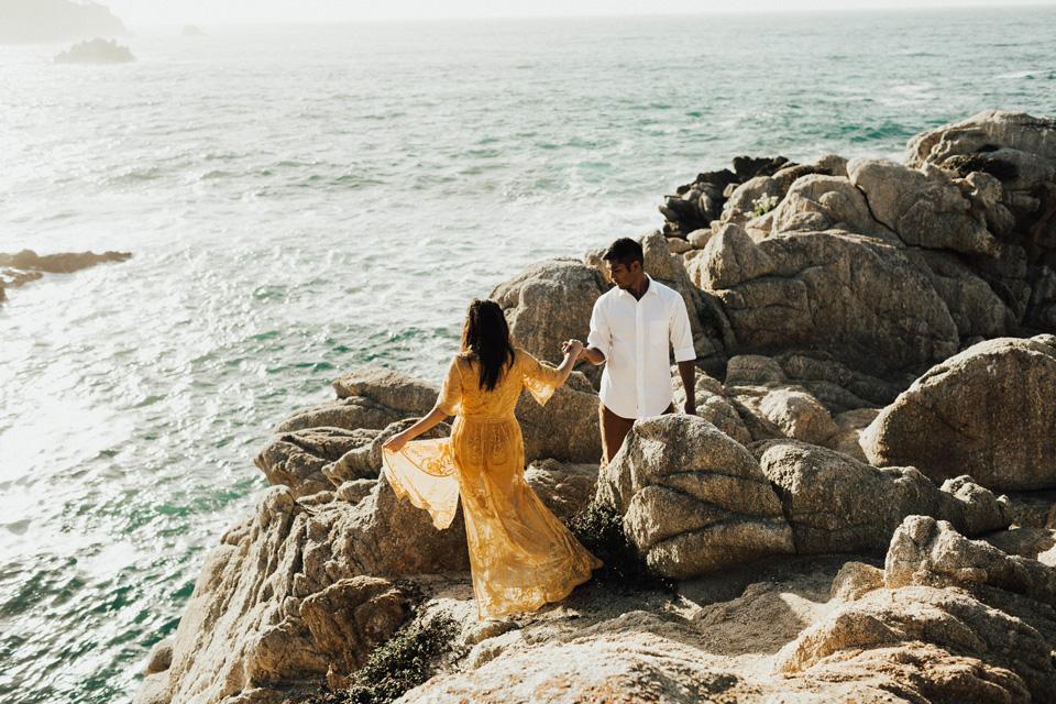 Big Sur Engagement Session - Michelle Larmand Photography027