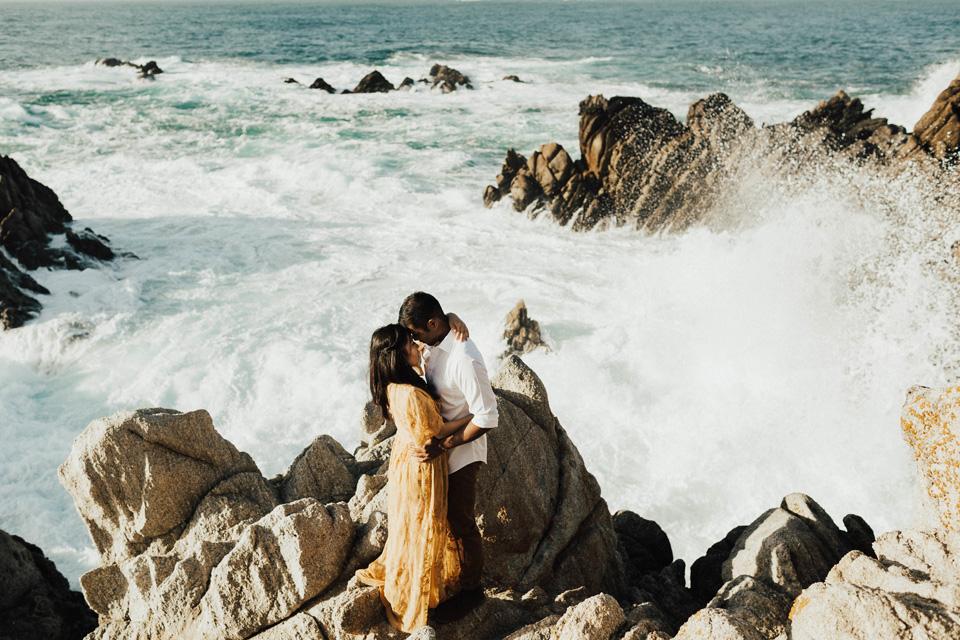 Big Sur Engagement Session - Michelle Larmand Photography028