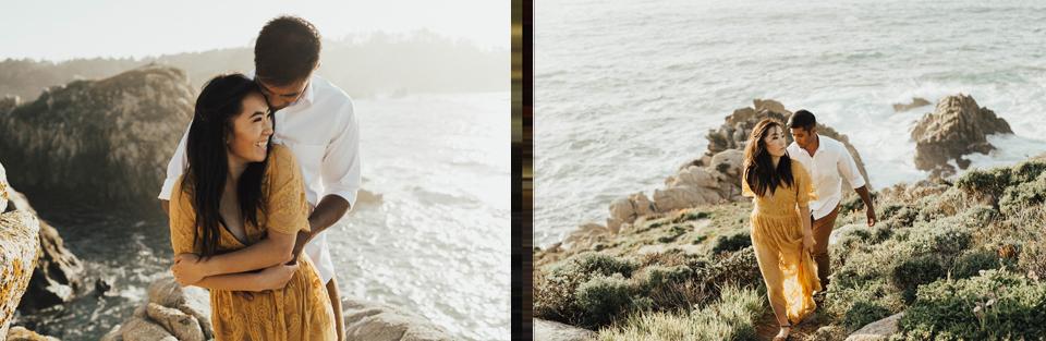 Big Sur Engagement Session - Michelle Larmand Photography031