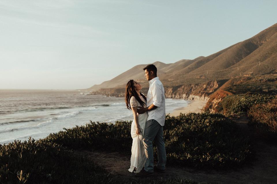 Big Sur Engagement Session - Michelle Larmand Photography035