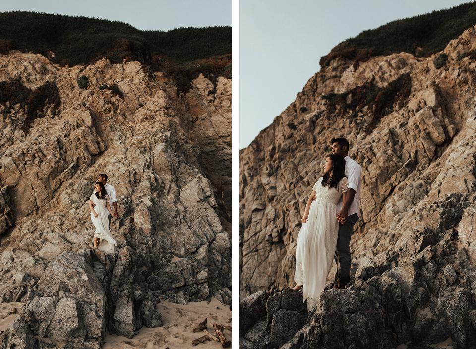 Big Sur Engagement Session - Michelle Larmand Photography054
