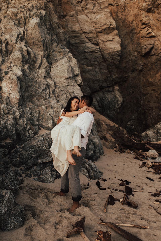 Big Sur Engagement Session - Michelle Larmand Photography058