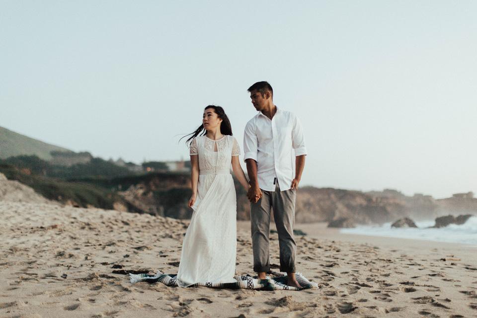 Big Sur Engagement Session - Michelle Larmand Photography062