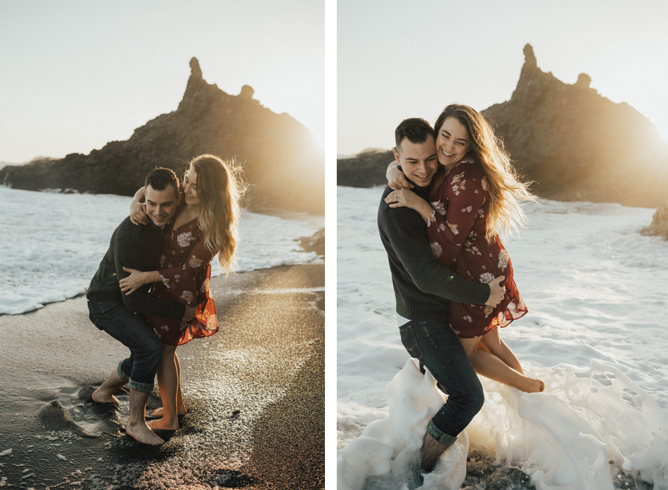 Black Sands Beach Couples Session - Michelle Larmand Photography016