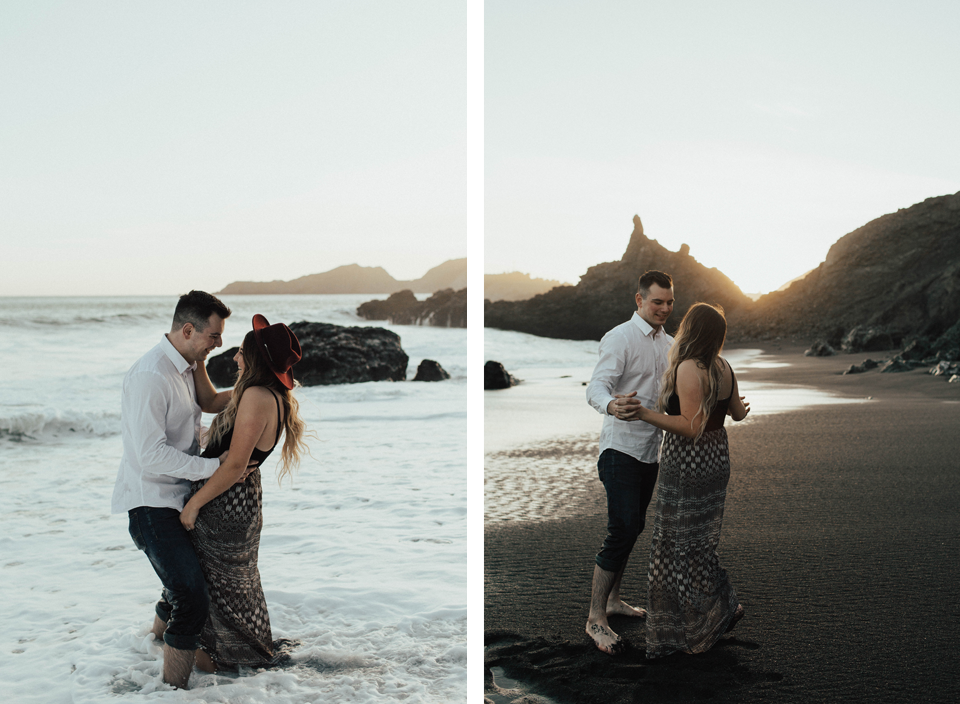 Black Sands Beach Couples Session - Michelle Larmand Photography021
