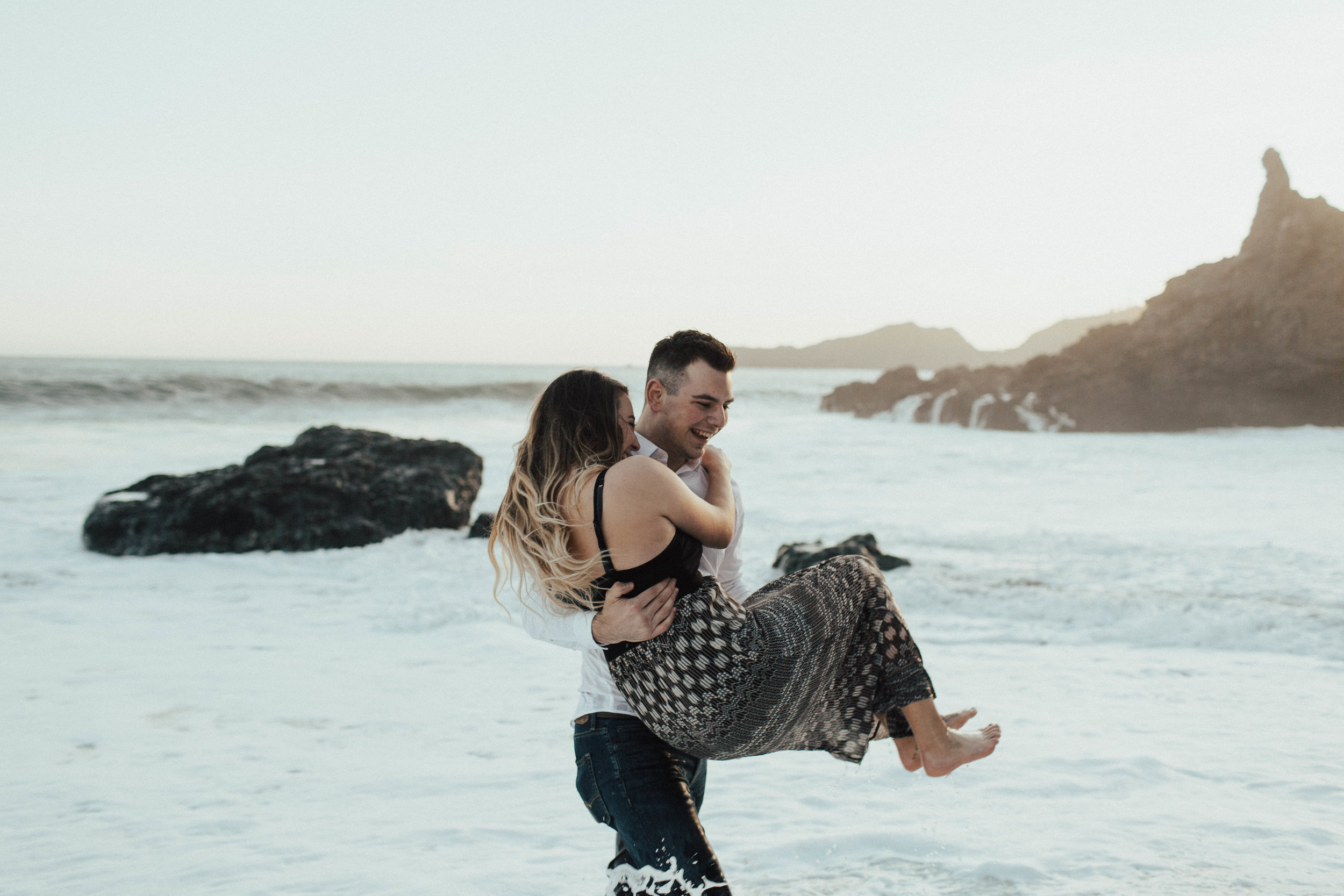 Black Sands Beach Couples Session - Michelle Larmand Photography035