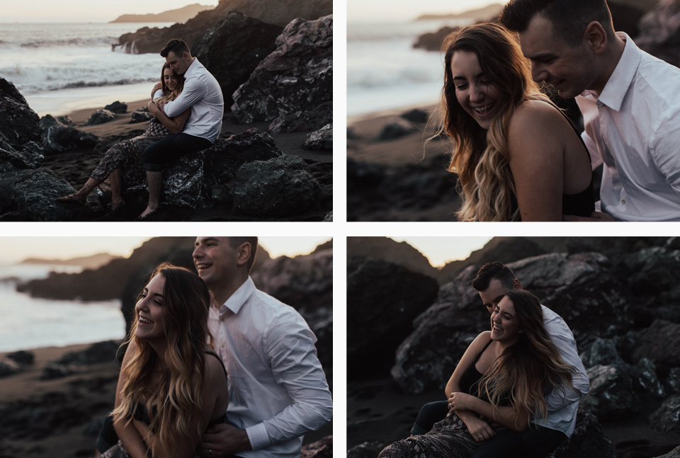 Black Sands Beach Couples Session - Michelle Larmand Photography052