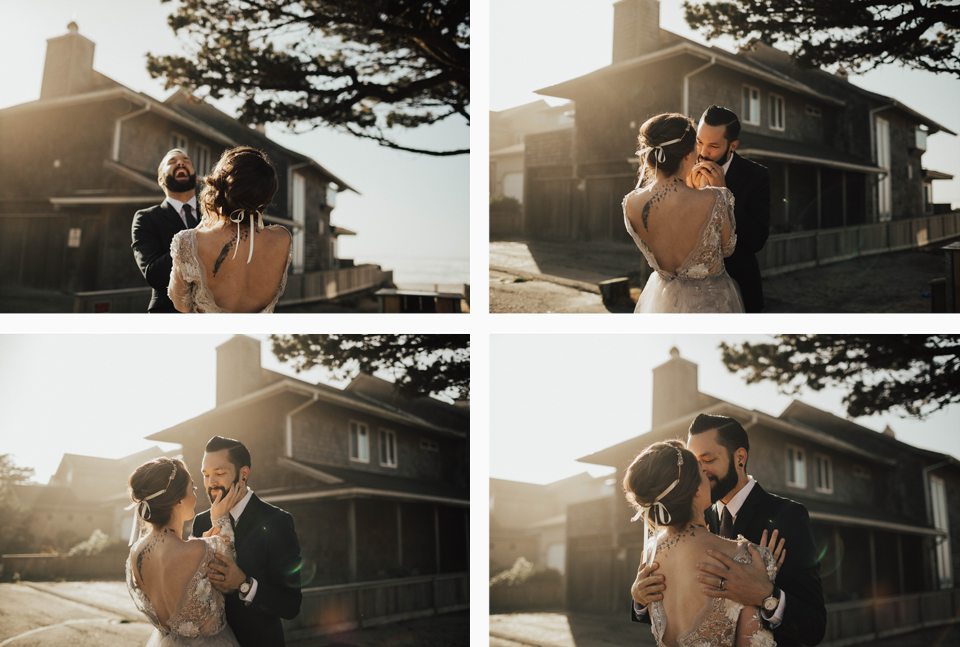 Cannon Beach Elopement - Michelle Larmand Photography - 005
