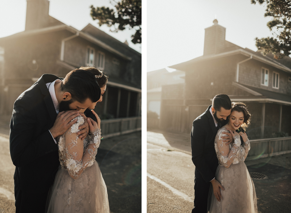 Cannon Beach Elopement - Michelle Larmand Photography - 011