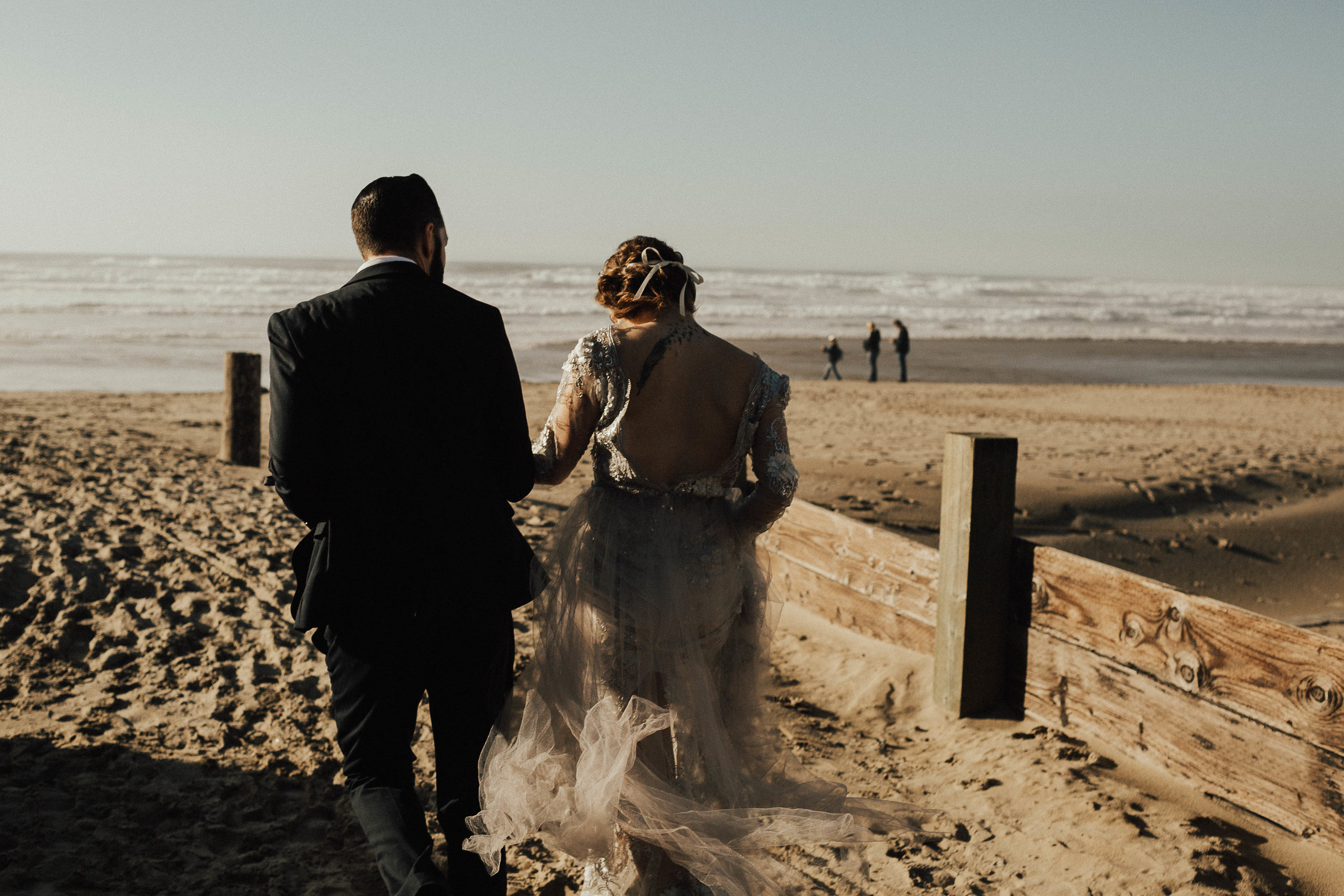 Cannon Beach Elopement - Michelle Larmand Photography - 035
