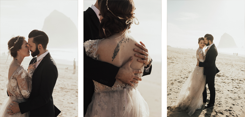 Cannon Beach Elopement - Michelle Larmand Photography - 040