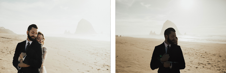 Cannon Beach Elopement - Michelle Larmand Photography - 048