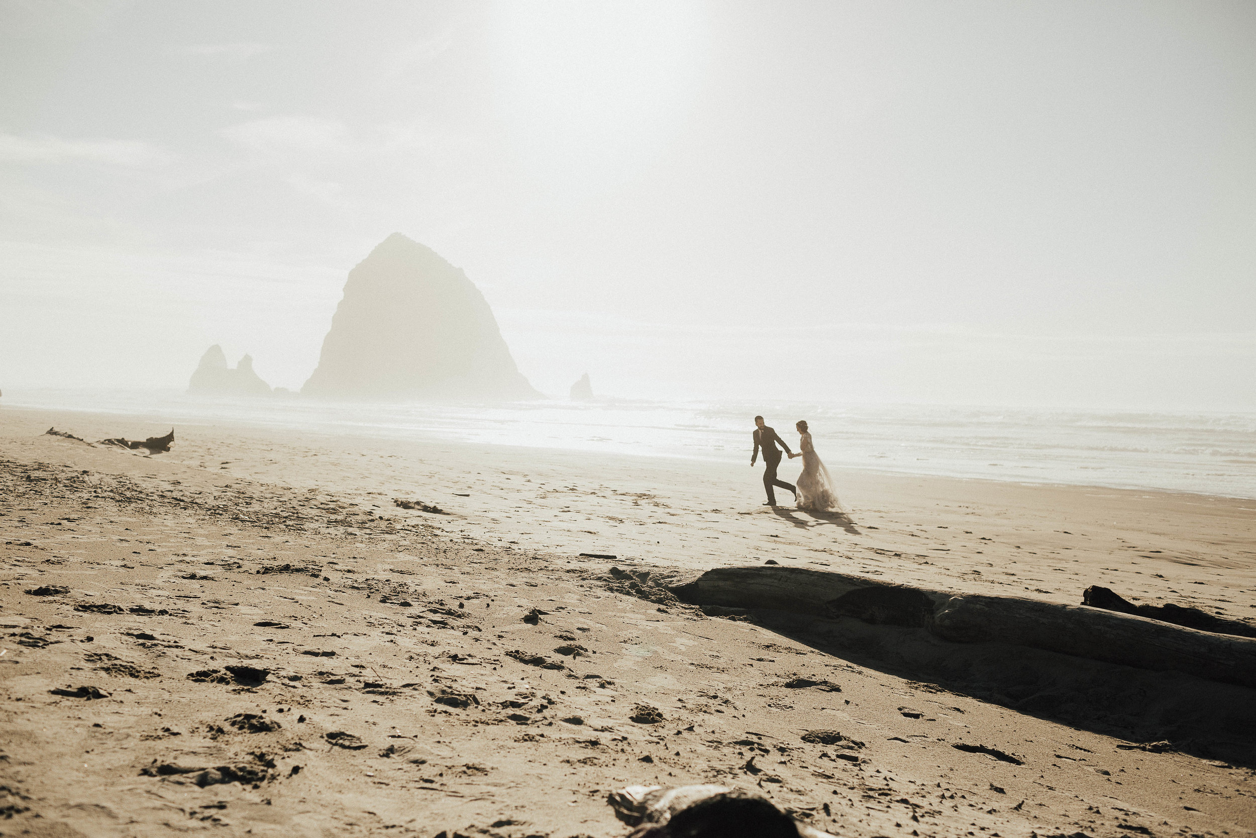Cannon Beach Elopement - Michelle Larmand Photography - 052