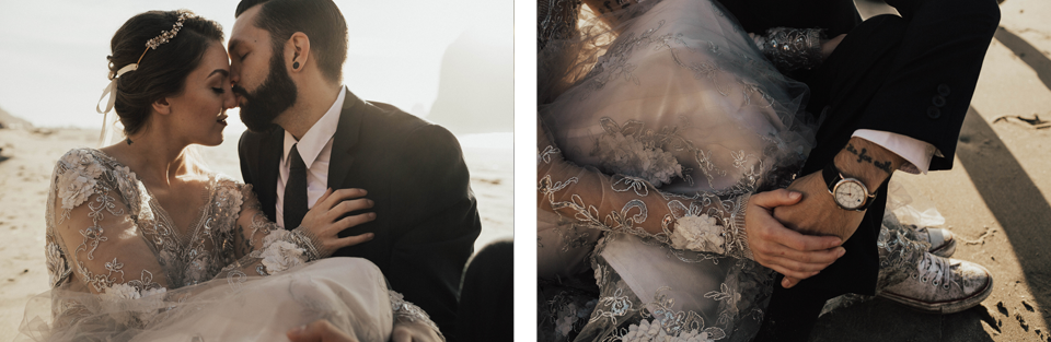 Cannon Beach Elopement - Michelle Larmand Photography - 054