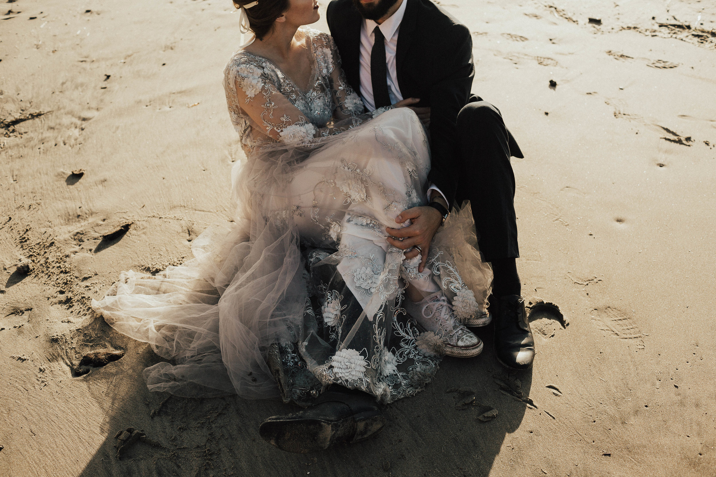 Cannon Beach Elopement - Michelle Larmand Photography - 055