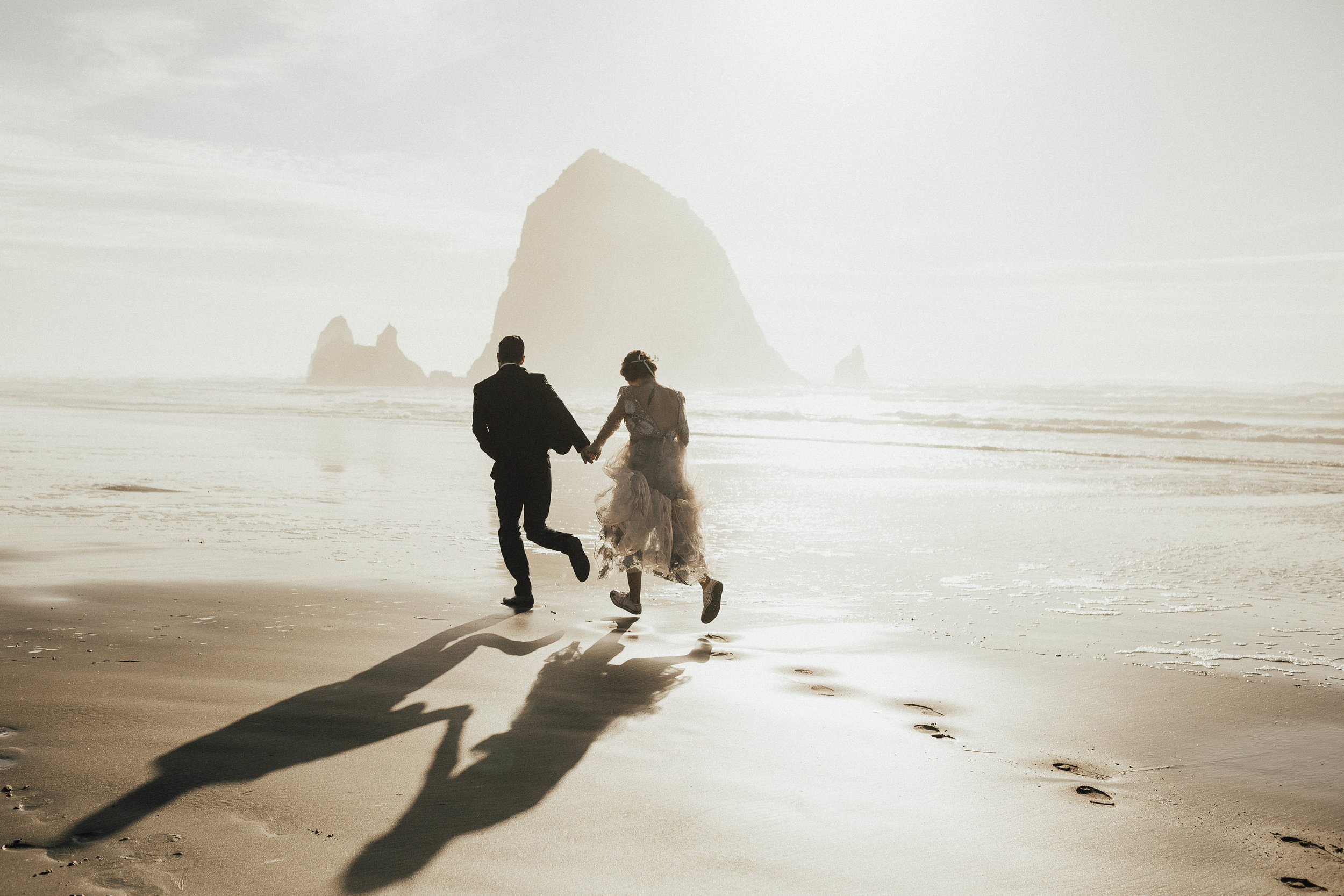 Cannon Beach Elopement - Michelle Larmand Photography - 067
