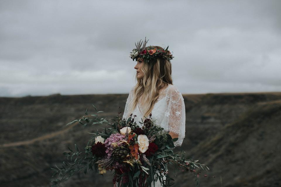 Drumheller Vow Renewal Elopement - Michelle Larmand Photography020