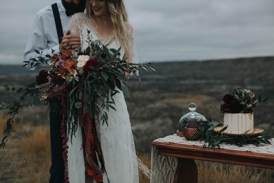 Drumheller Vow Renewal Elopement - Michelle Larmand Photography028