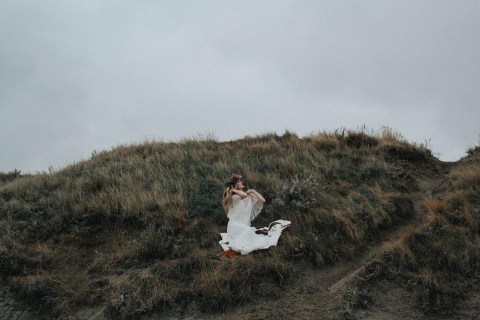 Drumheller Vow Renewal Elopement - Michelle Larmand Photography051