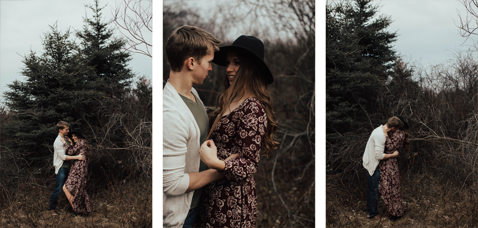 Edmonton Engagement Photographer - Michelle Larmand Photography - Mossy woods engagement session011