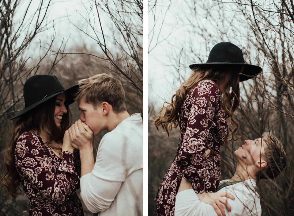 Edmonton Engagement Photographer - Michelle Larmand Photography - Mossy woods engagement session020