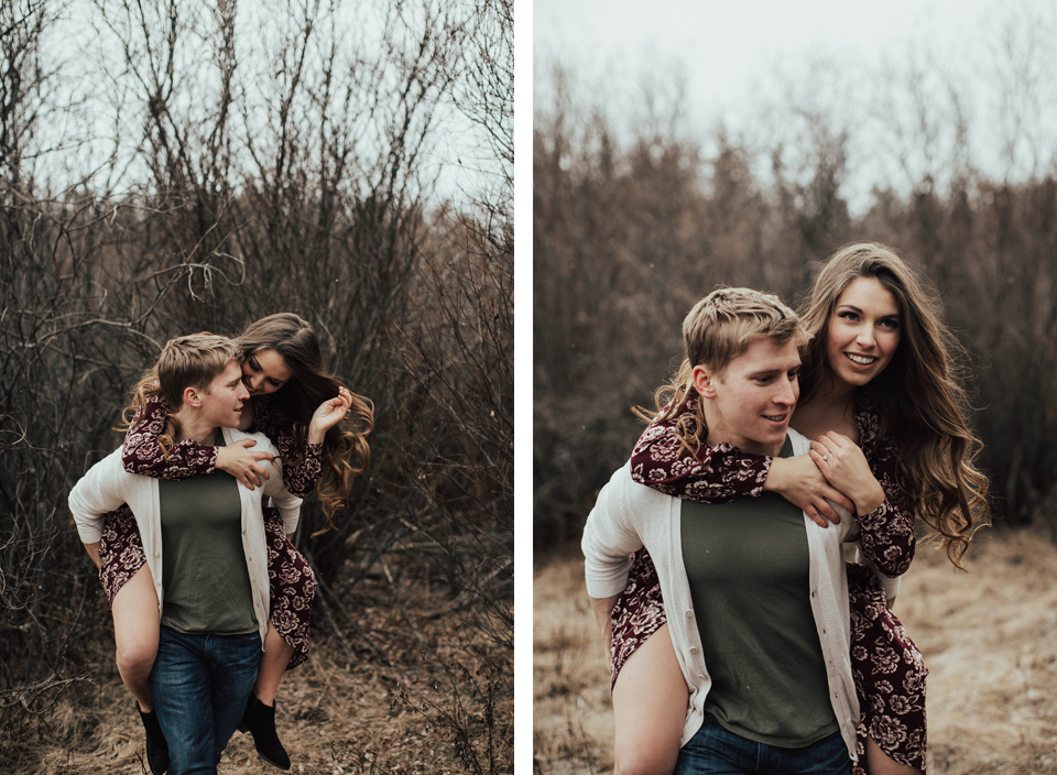 Edmonton Engagement Photographer - Michelle Larmand Photography - Mossy woods engagement session022