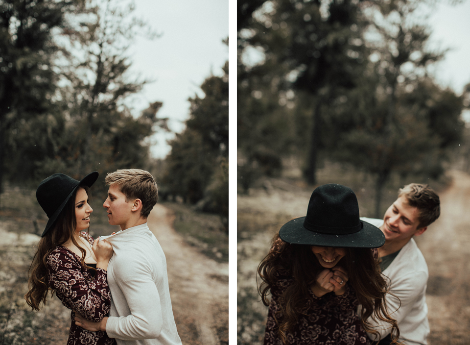 Edmonton Engagement Photographer - Michelle Larmand Photography - Mossy woods engagement session027