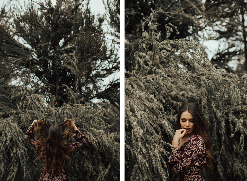 Edmonton Engagement Photographer - Michelle Larmand Photography - Mossy woods engagement session040