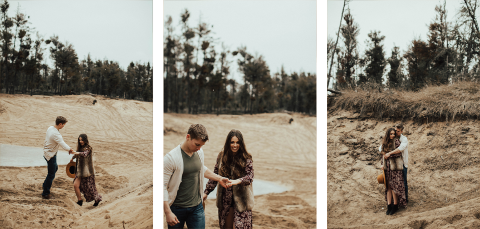Edmonton Engagement Photographer - Michelle Larmand Photography - Mossy woods engagement session061
