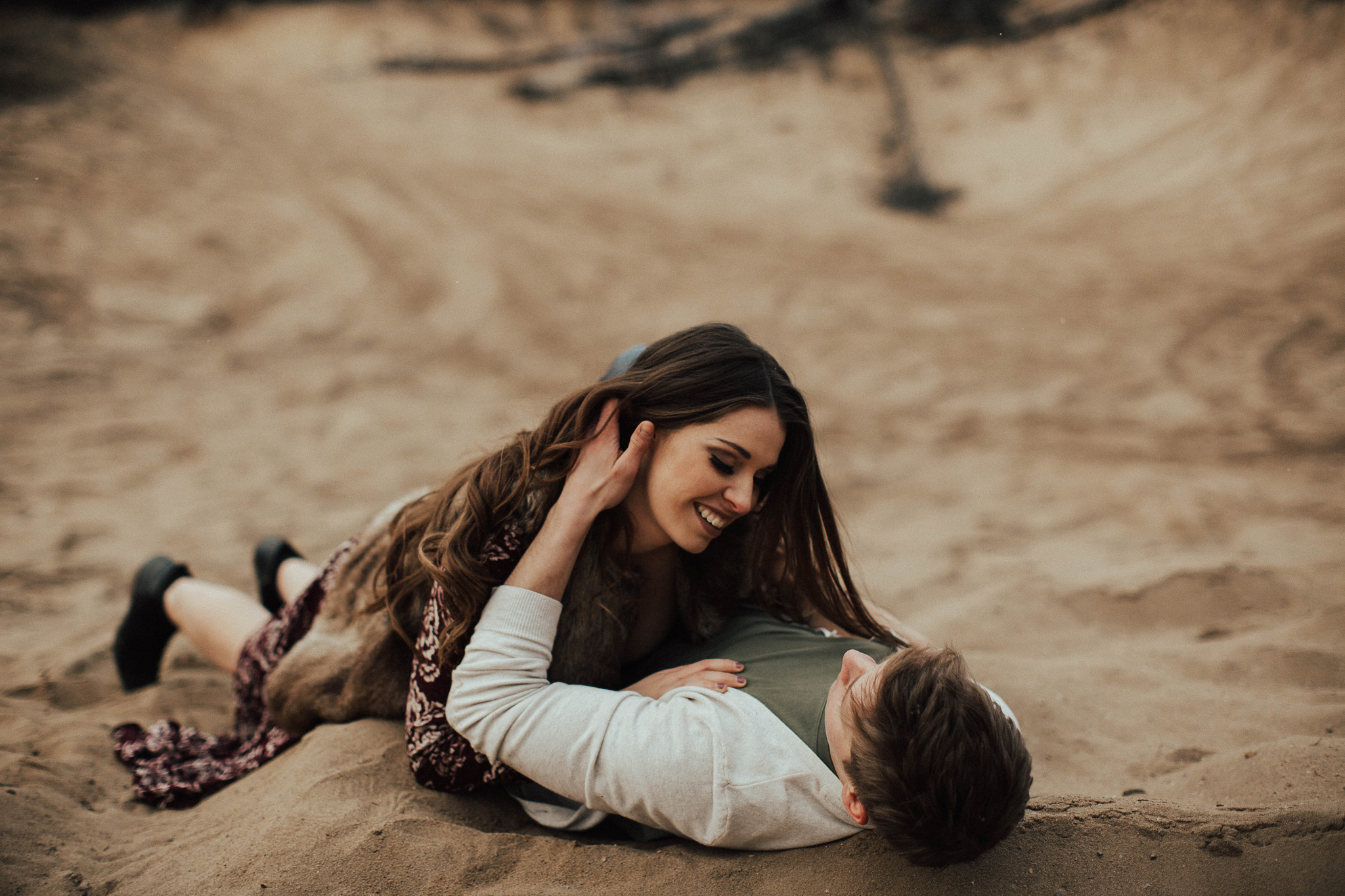 Edmonton Engagement Photographer - Michelle Larmand Photography - Mossy woods engagement session078