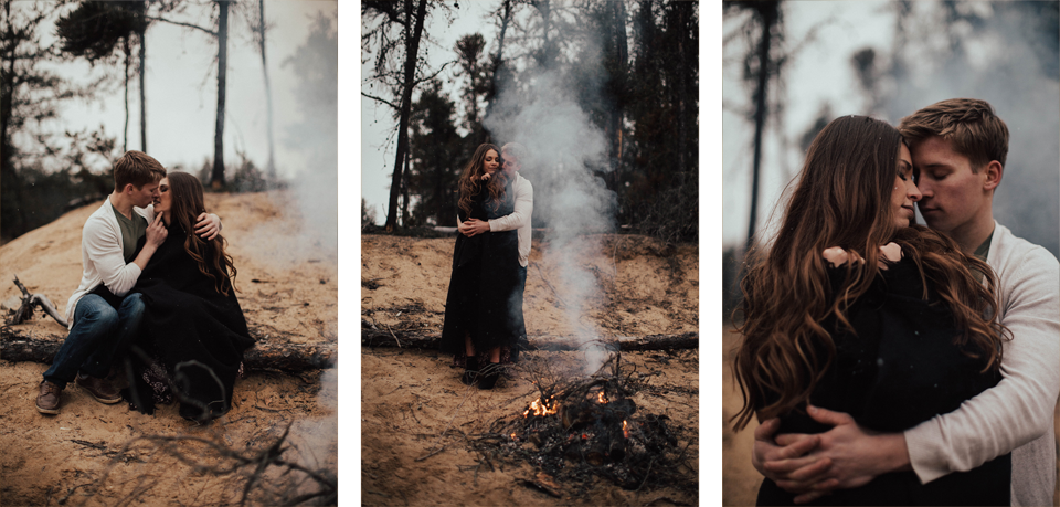 Edmonton Engagement Photographer - Michelle Larmand Photography - Mossy woods engagement session095
