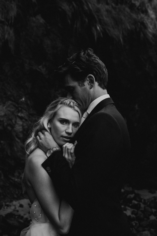 Hug Point Oregon Elopement - Michelle Larmand Photography -040