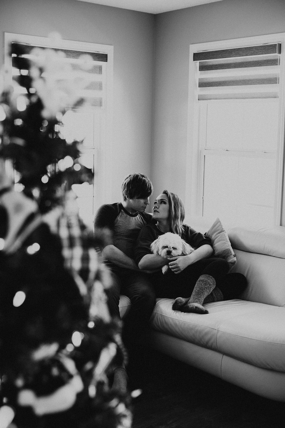 In Home Couples Session - Michelle Larmand Photography002