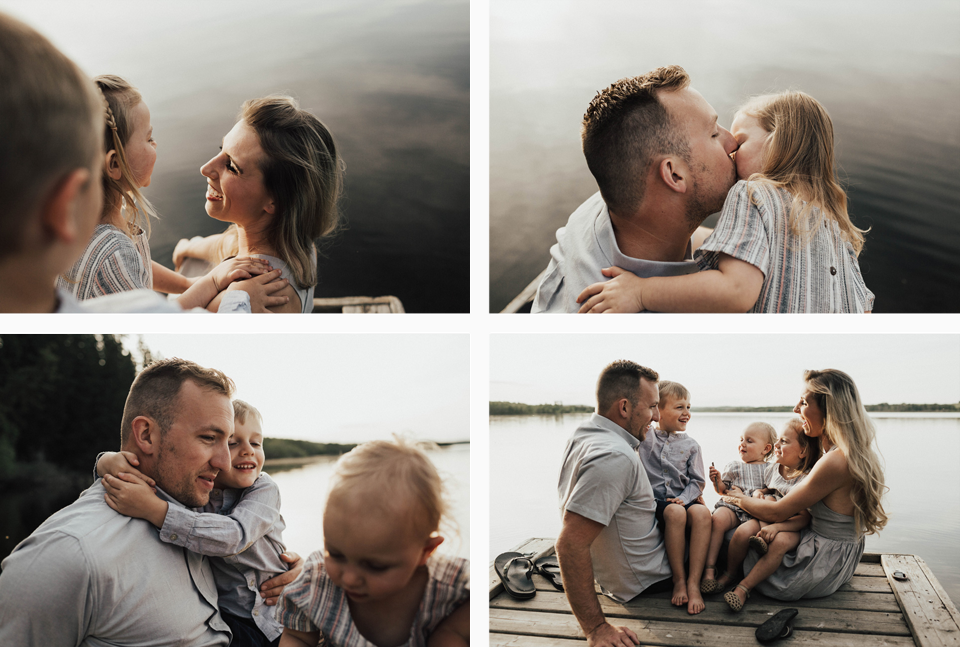 Summer lakeside family session - Michelle Larmand Photography - 008
