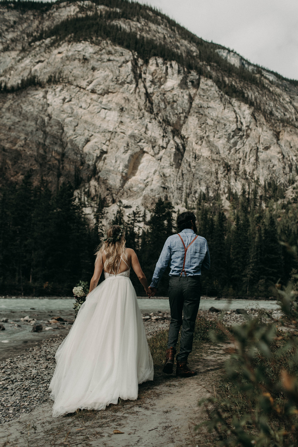 BANFF ADVENTURE ELOPEMENT - JENNA + DAN - deCEMBER 8, 2017
