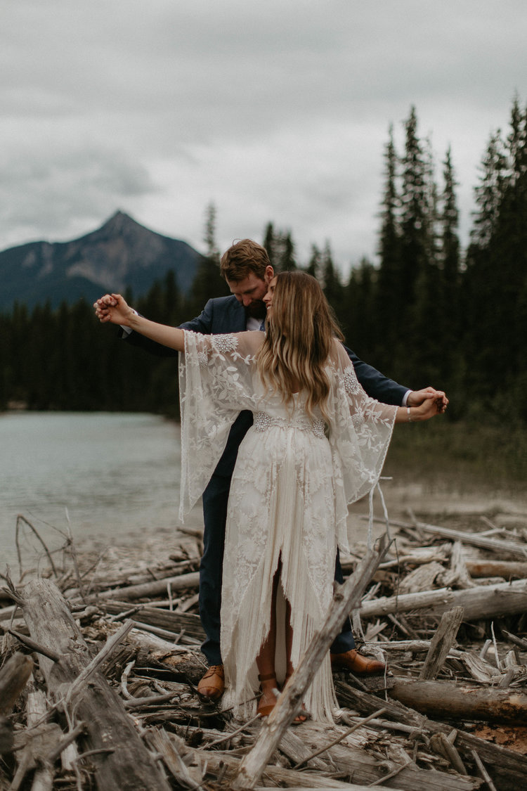 JESS + EVAN'S GOLDEN BC MOUNTAIN WEDDING - September 14, 2018