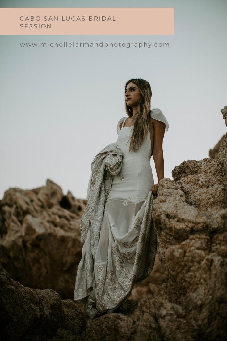 Cabo San Lucas Bridal Session | Michelle Larmand Photography