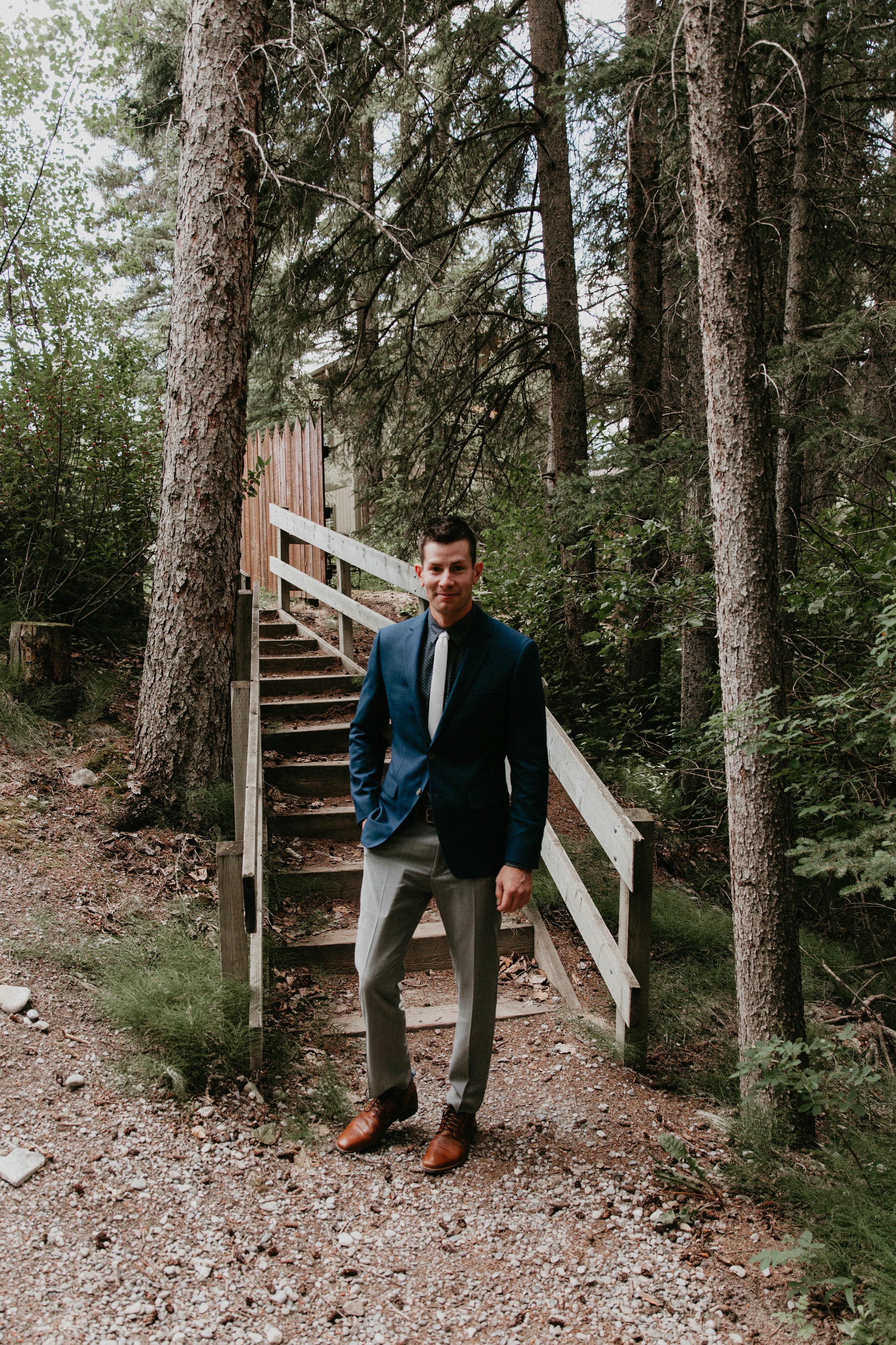 Canmore, Alberta wedding   Michelle Larmand Photography