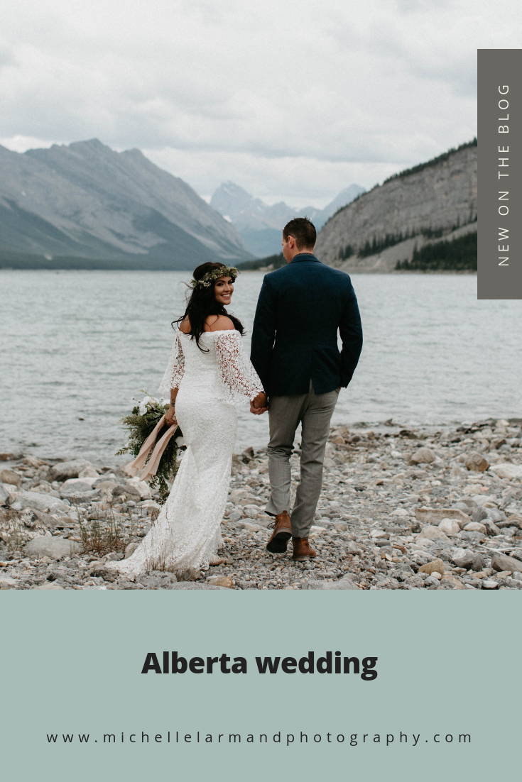 Canmore wedding | Michelle Larmand Photography