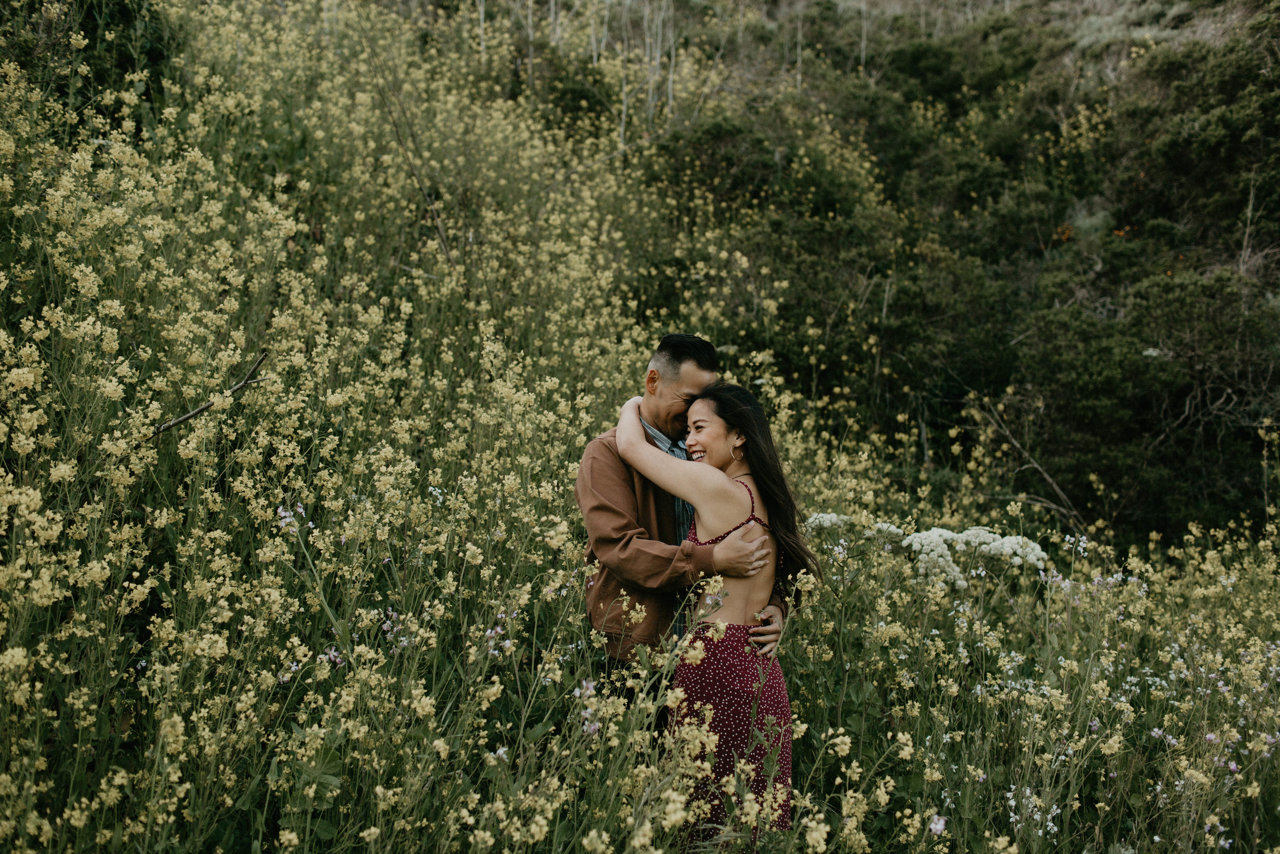 Point Reyes California couples session by Michelle Larmand photography