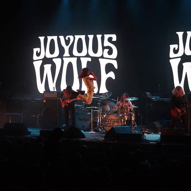 If you want to see a true rock show, don't miss @joyouswolfmusic opening for Deep Purple!  #rocknroll #rockmusic #rockband #classicrock #guitar #guitarist #drummer #livemusic #concert #deeppurple #joyouswolf