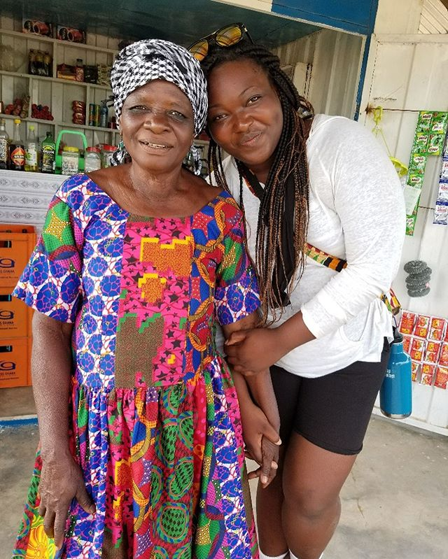 1st photo: AK co-founder @la_renee_o and her host mum, Mma Amina Apuri 2nd photo: Apuri family  Apuri family will be one of the host families for our Kazigu trip. Join us on this journey to the Upper East region of Ghana from 20th to 24th November.  For a cool 200ghs which caters for accommodation and food (home stays) as well as a trip to Sirigu, a pottery community. DM to reserve your spot . . . Abibikwantuo is a Black Travel Organisation based in Ghana which offers culturally immersive, fun, educational and financially accessible, group travels that leaves you (re)connected. Visit www.abibikwantuo.com for itineraries and program dates. Link in bio  #blackpacking #blacktravel #blackwomentraveltoo #blackpassportstamps #blackjourney #blackrevolution #travelafrica #travelghana #ghanalife #travelnoire #blackmentoo #blacktraveler #blacklivesmatter #growingupblack #blackfreedom #melanatedpassports #blackliberation #blackpackers #abibikwantuo #blackpride #blackunity #melanin #blackwanderlust #blackwanderer #blackpeopletraveltoo #blackandabroad #blackpeopletravel #yearofreturn2019 #blacktravelgram #yearofreturn