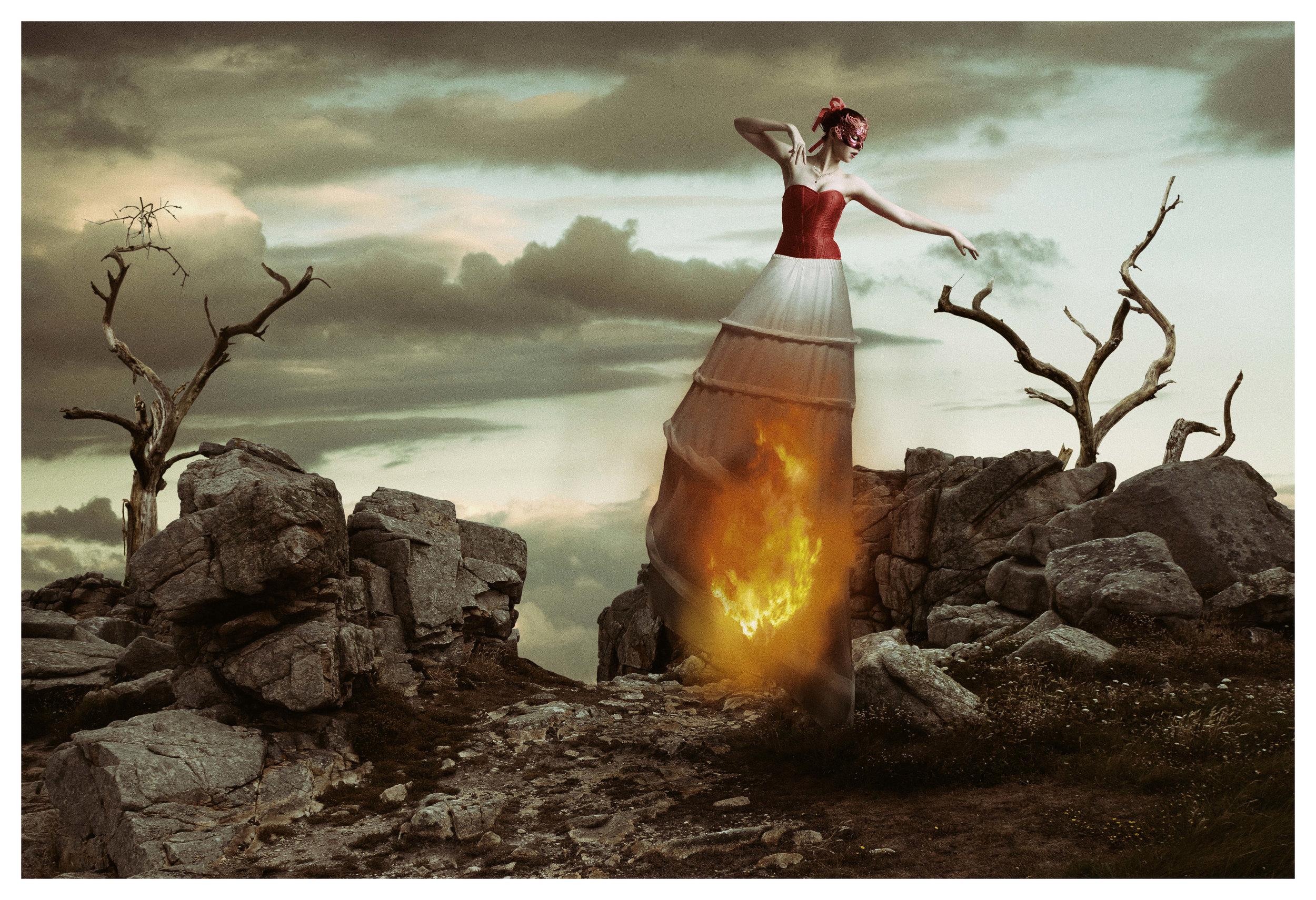 Danse du feu. (Dance of fire).  (2017)