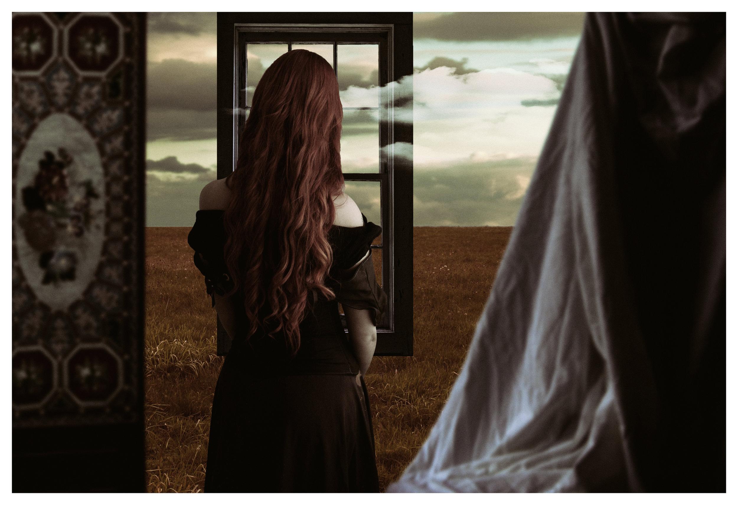 Melancholy.  (Vermeer's Girlfriend)   (2018)