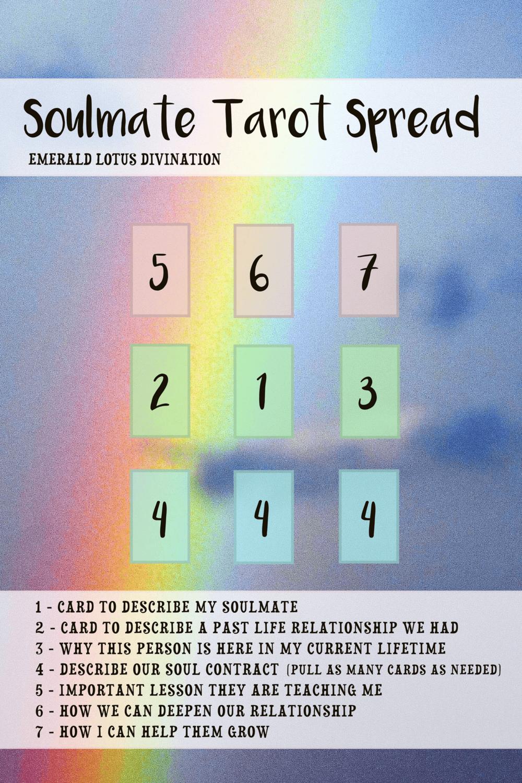 Tarot Spread   Soulmate Reading — Emerald Lotus Divination