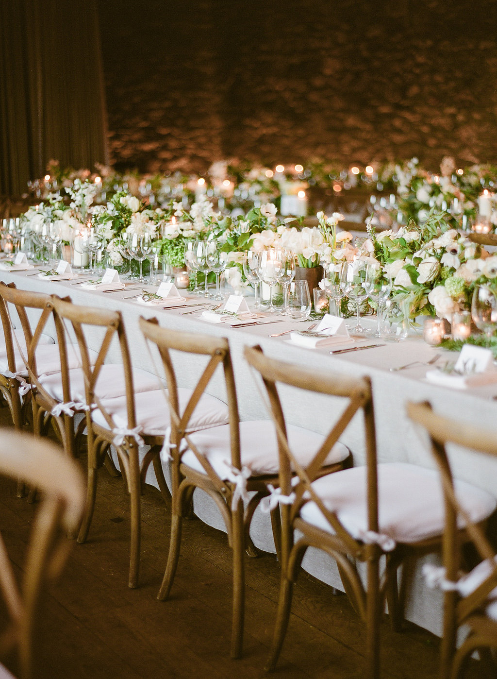 Catering: Marlow Events | Venue: The Castle | Photo: Heather Waraksa | Chairs: Rent Patina | Linen: Nuage | Tabletop Rentals: Eleven36 | Cocktail: Jesse Blades and Plant People | Stationery: Venamour | Flowers: Saiupa | Music: DJ Inbetween