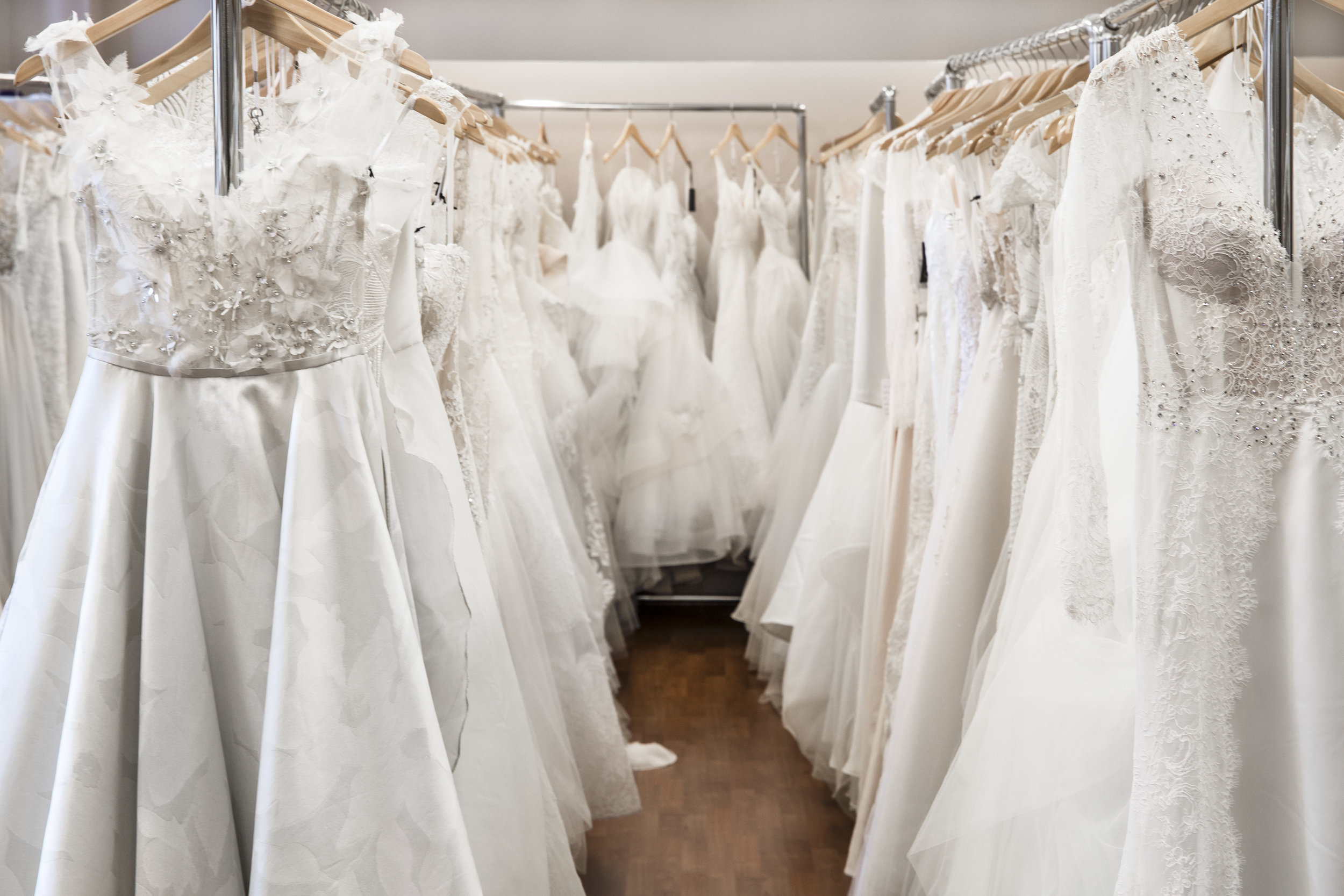 "- ""I was never going to wear it again and I'm not a very sentimental person (I also have all the pictures!) Make sure your dress has been cleaned and stored properly."" - Melanie"
