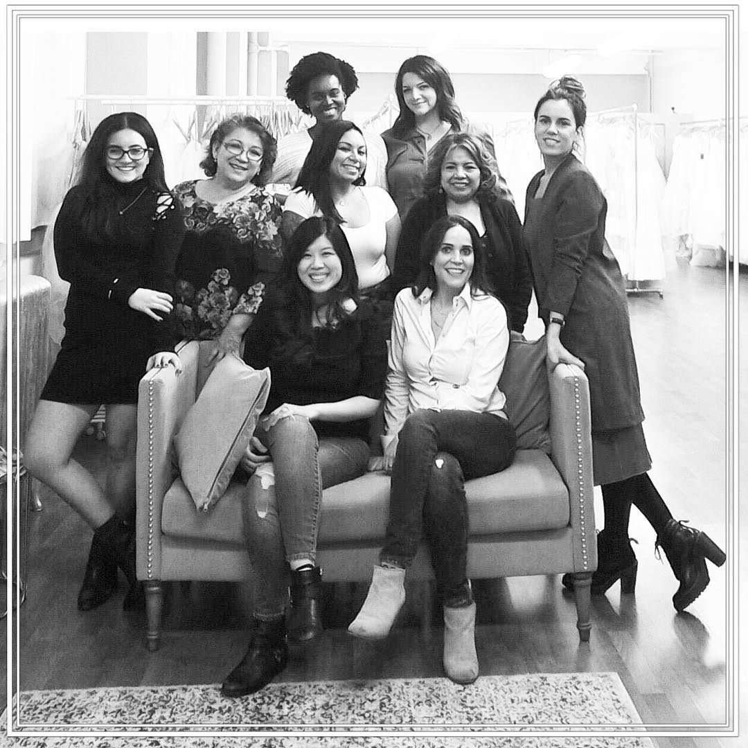 Our growing team of great stylists, seamstresses, and creators of Happily Evers